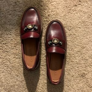 Coach Lenox Loafer - Red